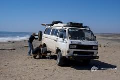VW-T3-Syncro-Vanagon-Namibia-Skelett-Kueste