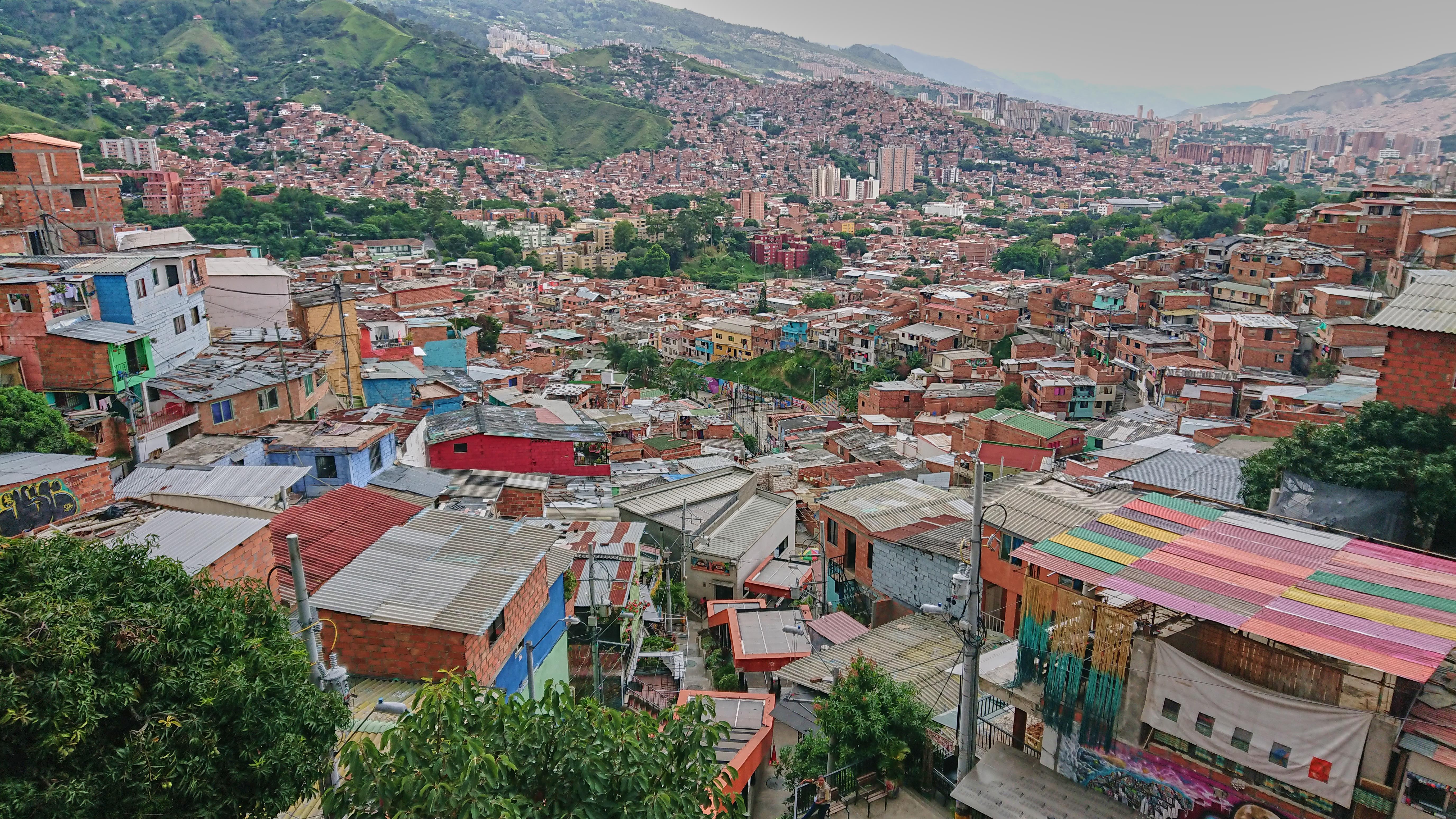Comuna 13, Medellin, Kolumbien 2019